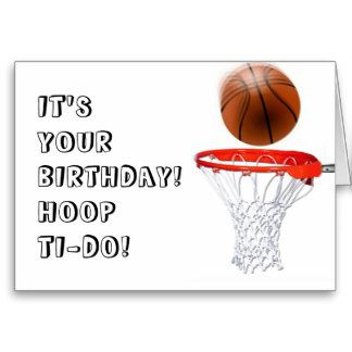 Basketball birthday greetings basketball birthday cards more basketball birthday cards bookmarktalkfo Image collections