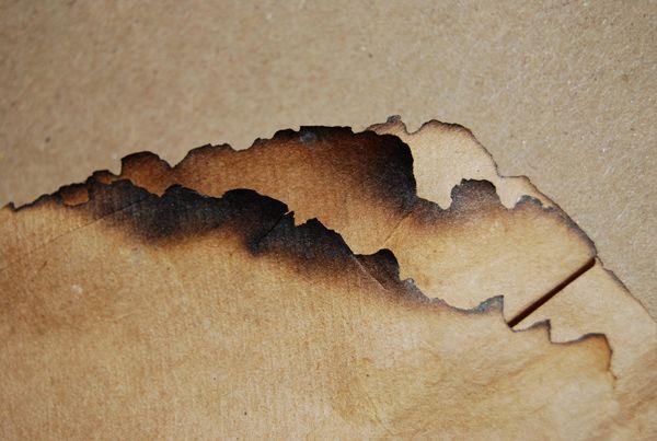 Burnt Brown Paper Burnt Paper Paper Texture Paper Drawing
