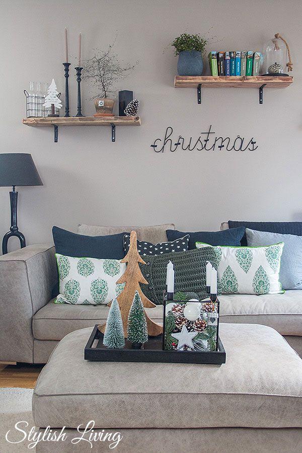 weihnachtliche Stimmung im Wohnzimmer | Projects to Try | Wohnzimmer ...