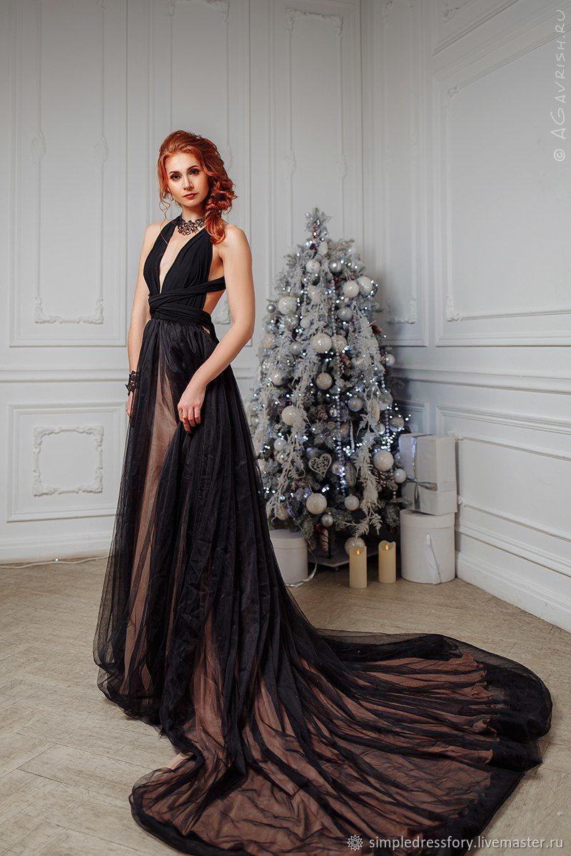 3e4755e460d Платье-трансформер с фатином – купить в интернет-магазине на Ярмарке  Мастеров с доставкой