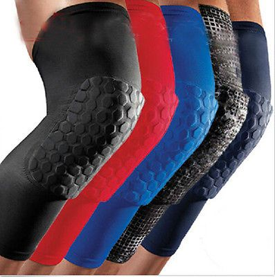 Extended Knee Pad Crashproof Basketball Run Long Leg Sleeve Protector Gear Brace