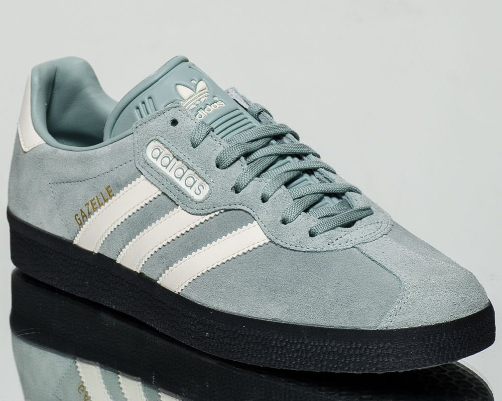 dbe498378f83 adidas Originals Gazelle Super men casual sneakers NEW tactile green CQ2796   adidas  Walking