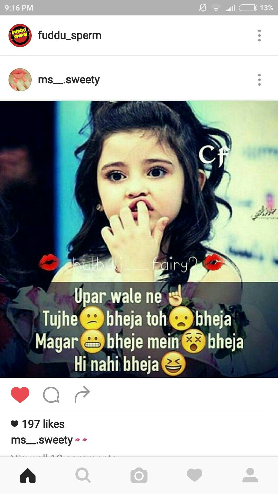 Hahaha Sahi Hai Bilkul G Rlz Att Tude Dpzz Quotes Funny Jokes