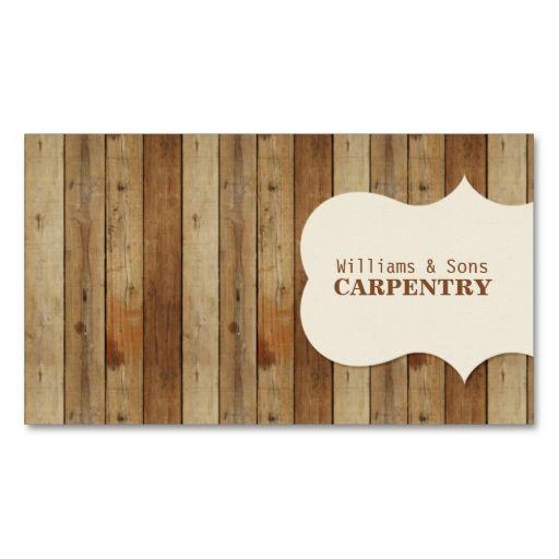 Wooden carpentry business card carpentry business cards and template wooden carpentry business card flashek Gallery