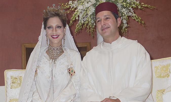 lalla soukaina hija de lalla meryem y sobrina del rey mohamed vi y su marido mohamed el mehdi ben abdelmottaleb regragui anuncian que el 27 de s - Mariage Lalla Soukaina