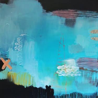 "Saatchi Art Artist Christiane Lohrig; Painting, ""Wo bitte geht`s nach Lummerland"" #art"