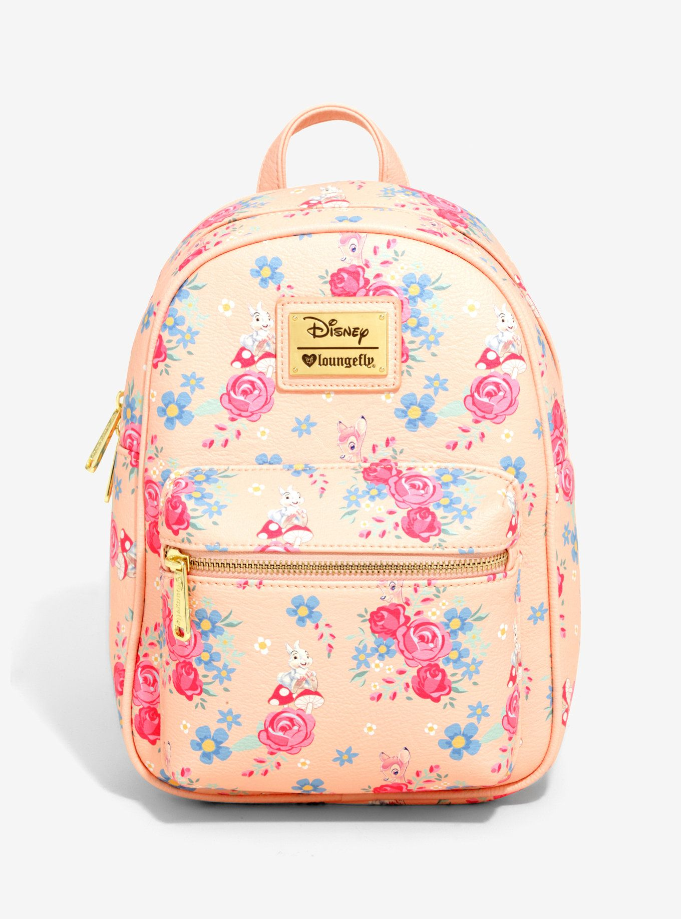 e13e91d7467b Loungefly Disney Bambi Floral Mini Backpack - BoxLunch Exclusive ...