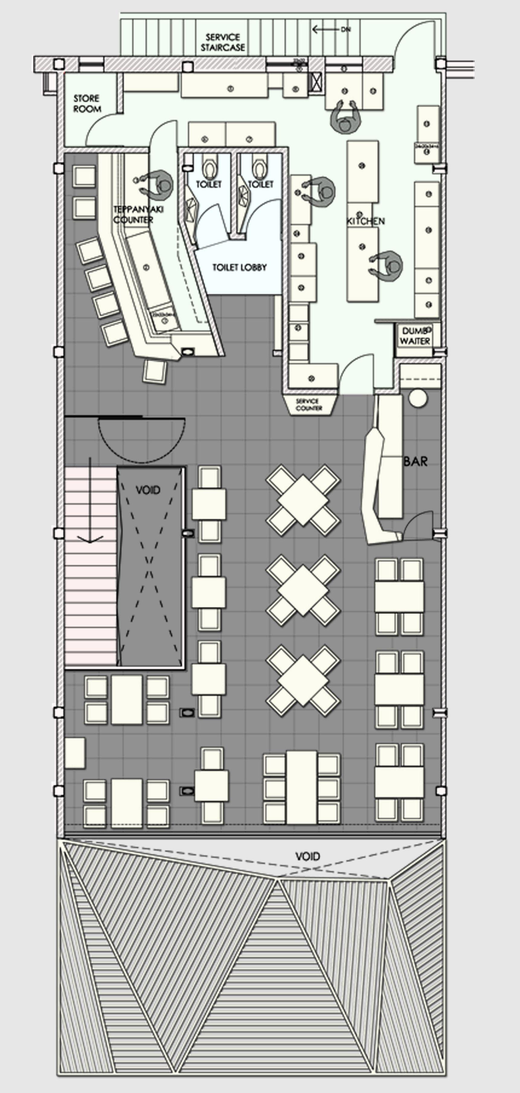 Restaurant kitchen equipment layout - Gallery Of Auriga Restaurant Sanjay Puri 13 Restaurant Layoutrestaurant Kitchenrestaurant