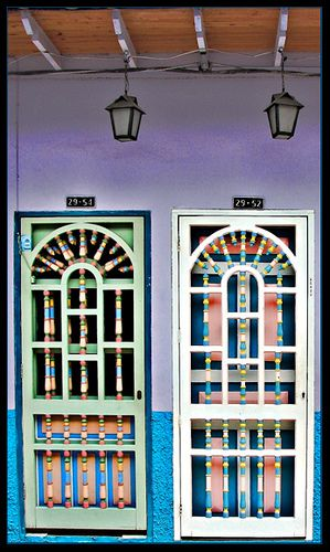 Twins Doors by OmarD, via Flickr