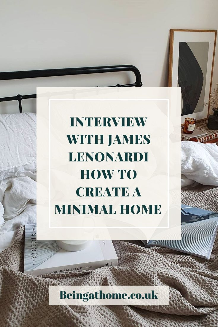 An interview where James gives us some insights into how he created his dreamy Scandinavian minimal flat. #homedecor #interiorinspiration #interior #interiorblog #interiorstyle #interiorstyling