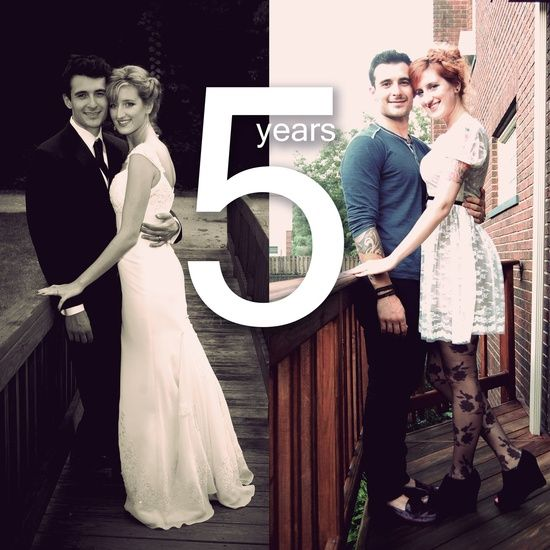 5 Year Anniversary Wedding Picture Re Do You Could This For Any Is Adorable And I Would Totally Frame The Wall