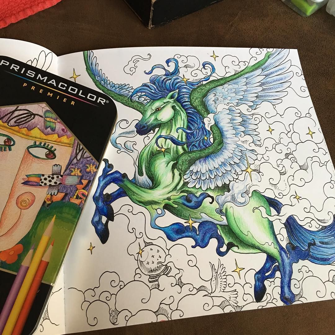 If anyone is in need of a badass adult coloring book, check out ...