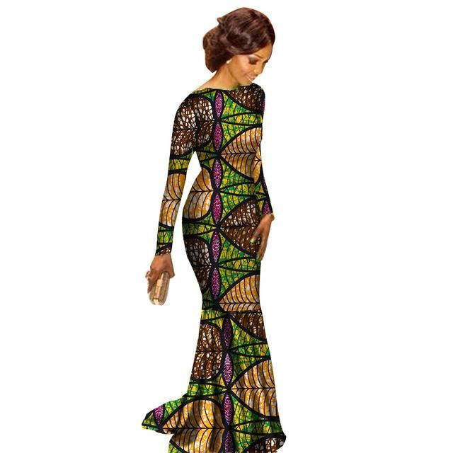 0de7fa2271a Africa Dashiki Traditional Dresses for Women in 2019