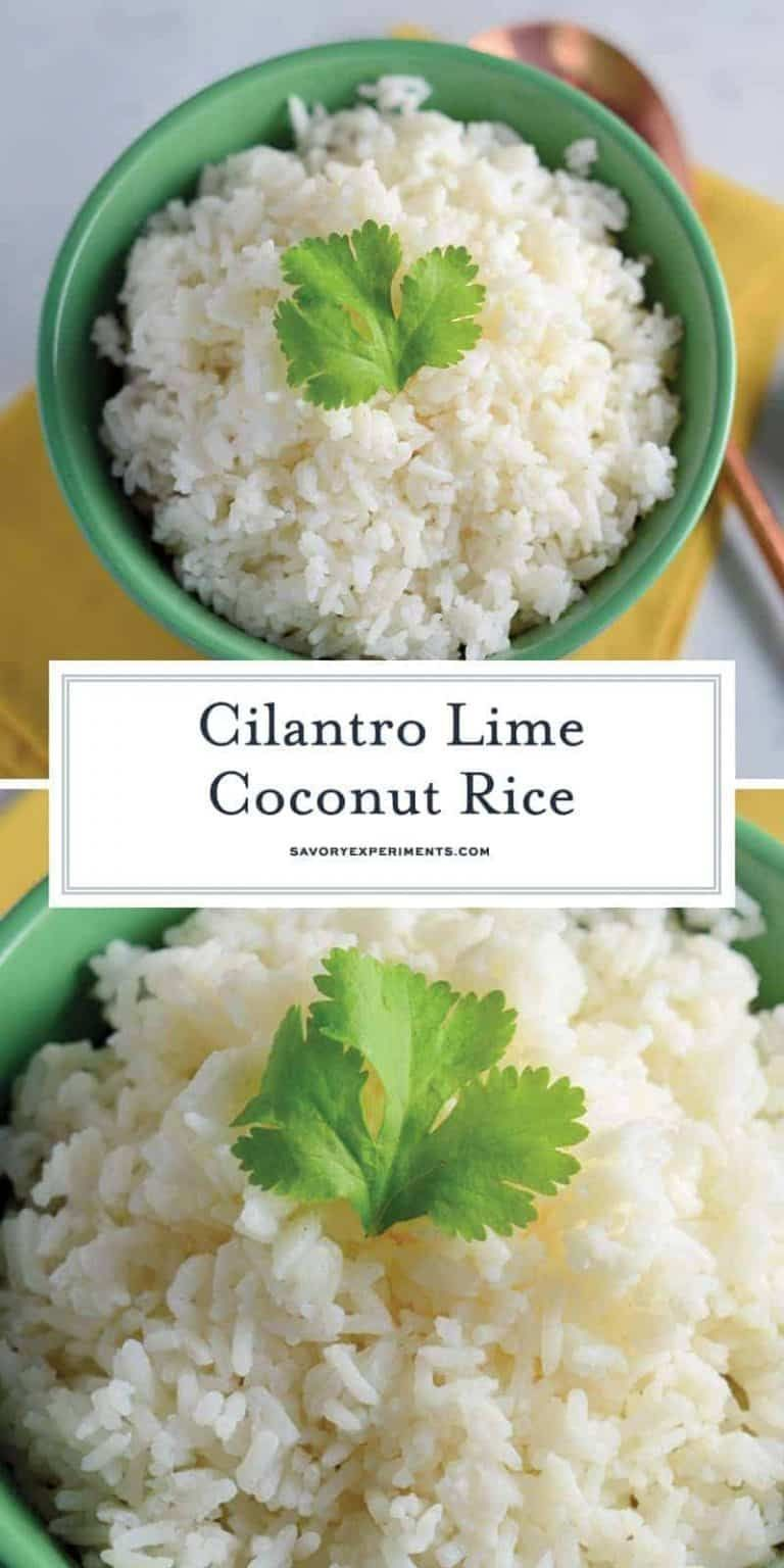 Cilantro Lime Coconut Rice