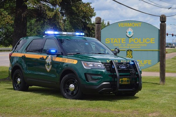 Vermont State Police State Trooper 213 Ford Interceptor Utility Police Cars Police Truck Ford Police