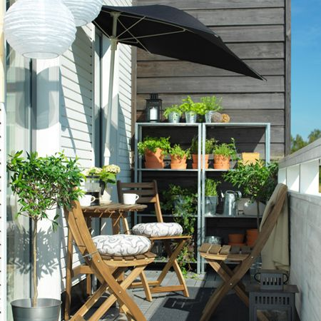 fliso parasol terrasse appartement en 2019 pinterest balcon balcon troit et ikea balcon. Black Bedroom Furniture Sets. Home Design Ideas