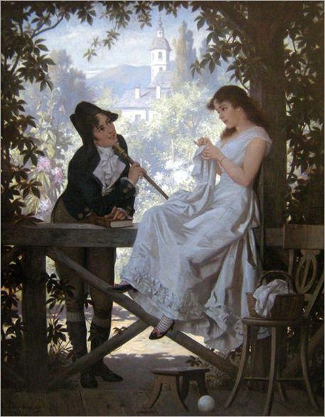 Carl Schweninger (Austrian 1854-1903)