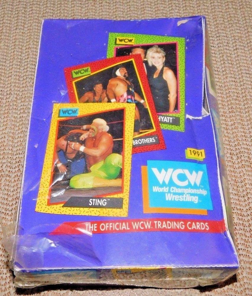 1991 wcw world championship wrestling trading cards sealed