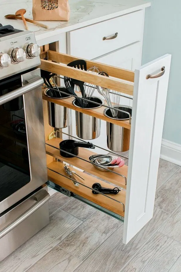 9+ game changing kitchen storage ideas 9 (With images) | Kitchen ...