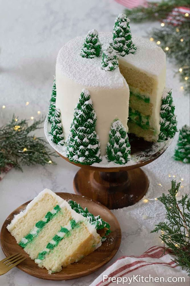 outlet in vendita ordina online economico per lo sconto Pin by Jennifer Cappelli on Cake Inspiration | Christmas tree cake ...