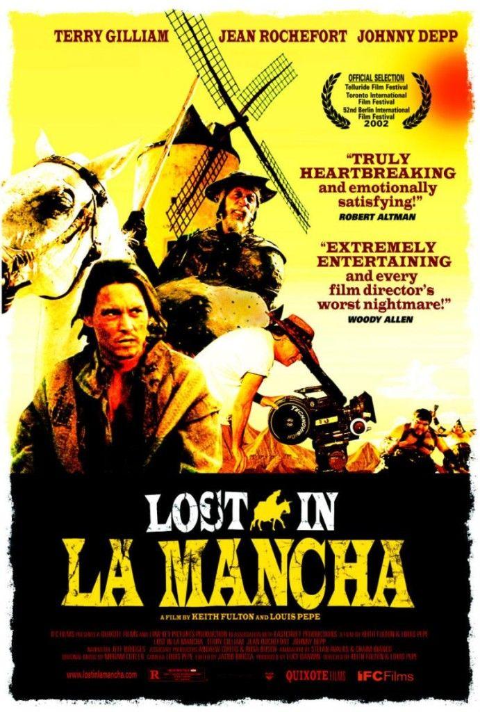 Perdidos en La Mancha / Código PUCP: PN 1995.9.P7 L (AV16)