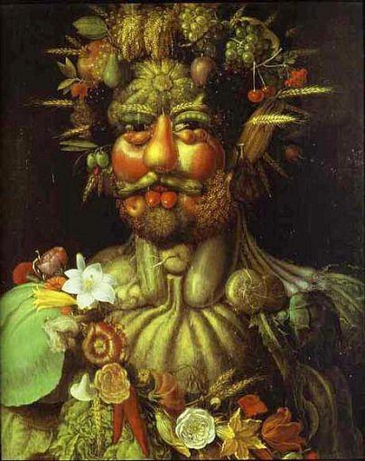 Guiseppe Arcimboldo Vertumnus 1591