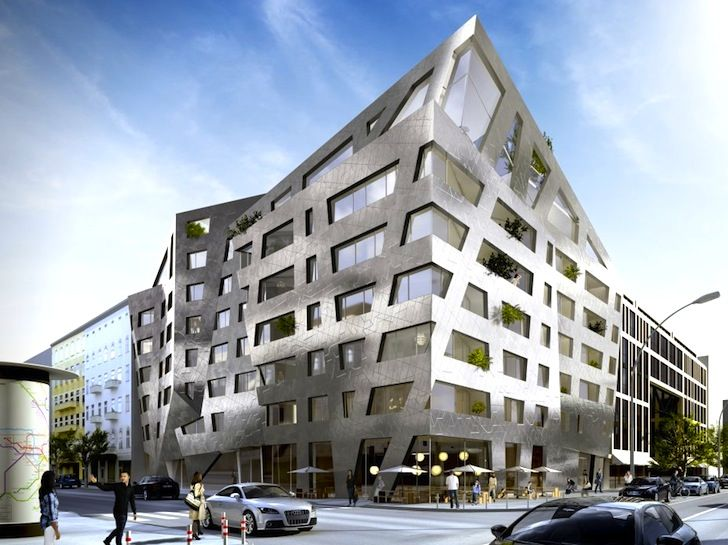 Architectural Designs For Apartments daniel libeskind's funky metallic apartments will purify the