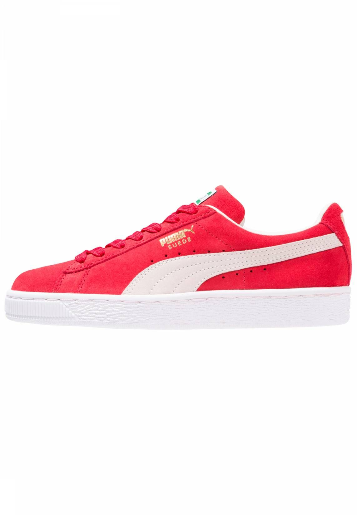 Puma. SUEDE SUPER Sneaker low high risk red. Sohle