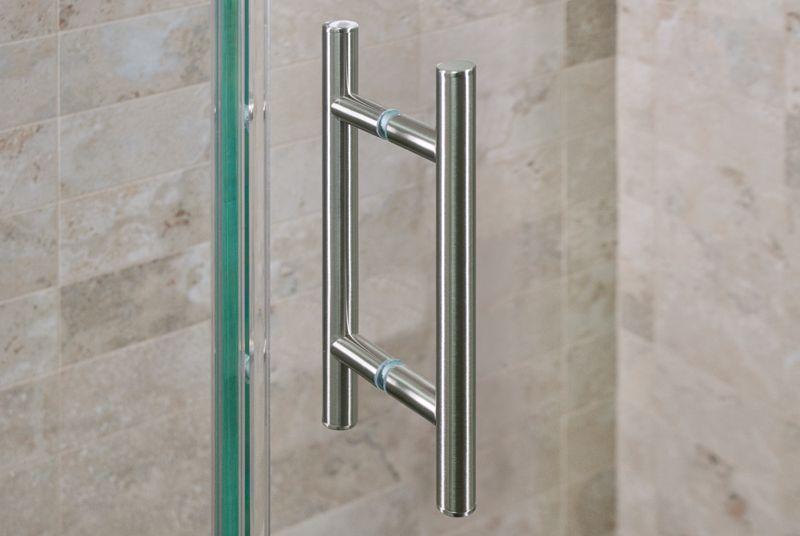 Brushed Nickel Shower Door Handle Shower Door Handles Shower Doors Frameless Shower Doors