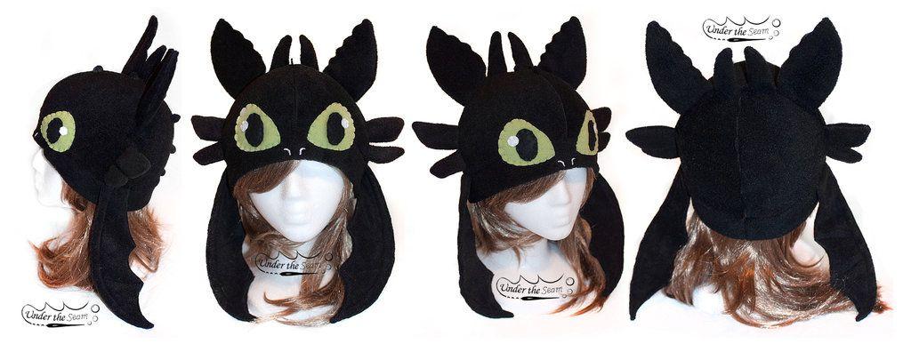 Toothless Hat by bubblywums on deviantART Disfraz dragon, Có