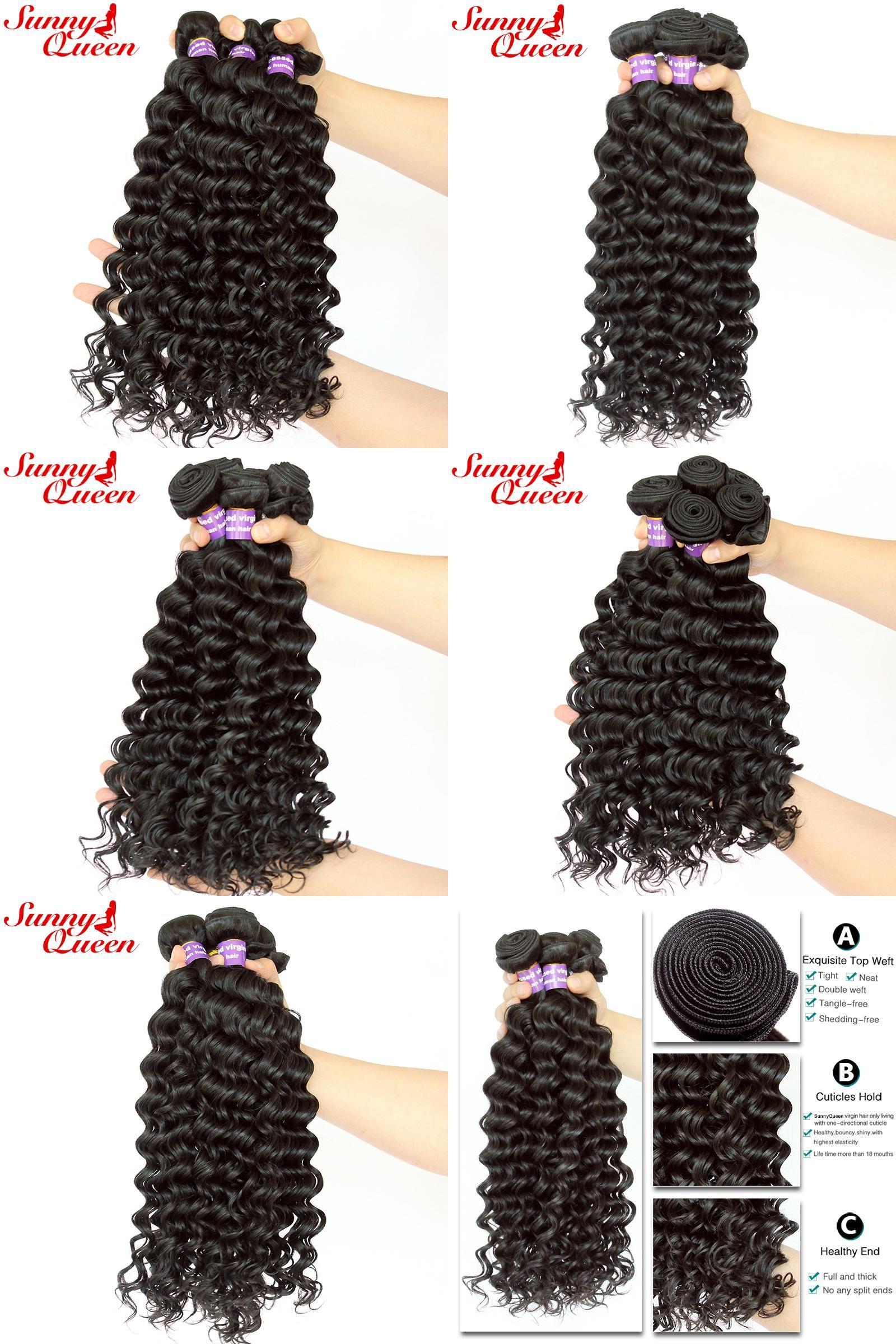 Visit To Buy Deep Wave Malaysian Virgin Hair 100 Unprocessed Human