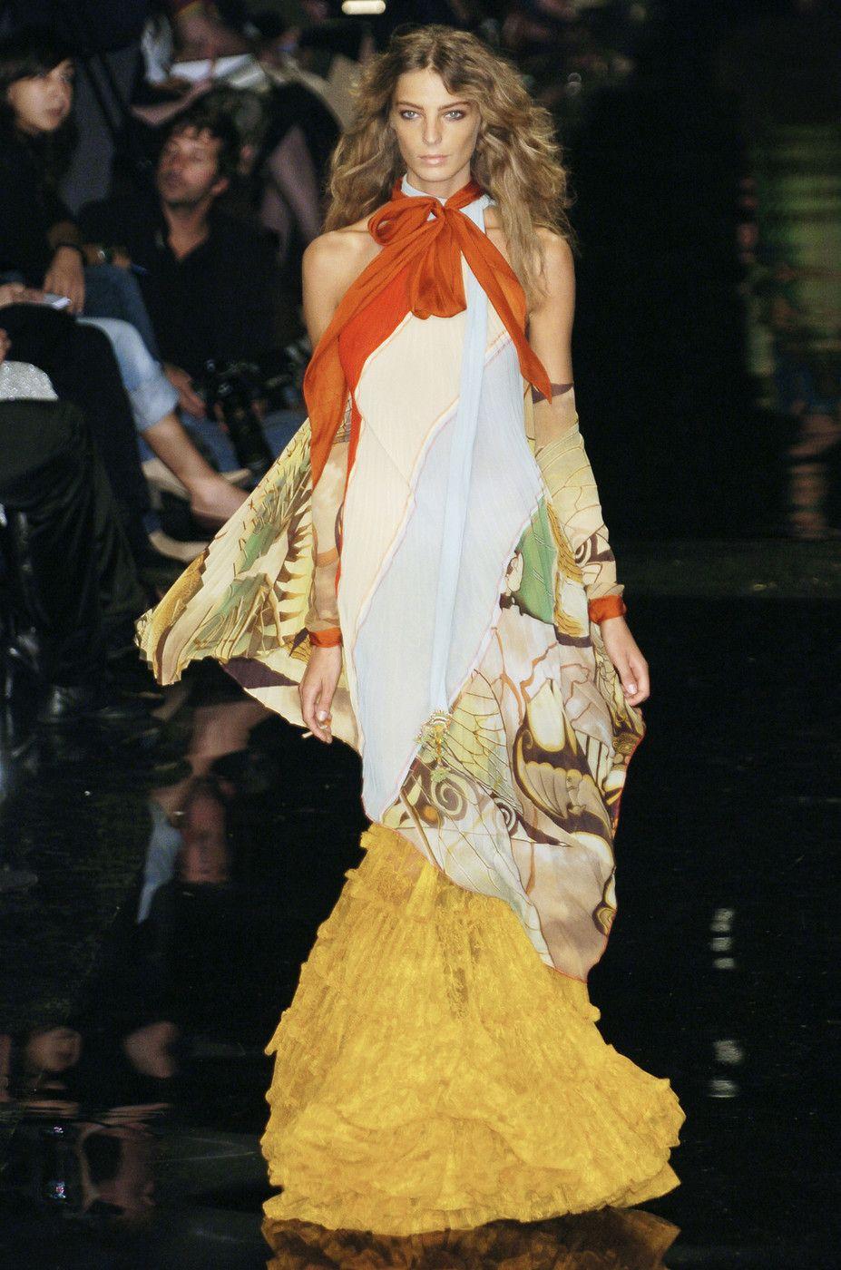 Jean Paul Gaultier Spring/Summer 2005 - Paris Model: Daria Werbowy