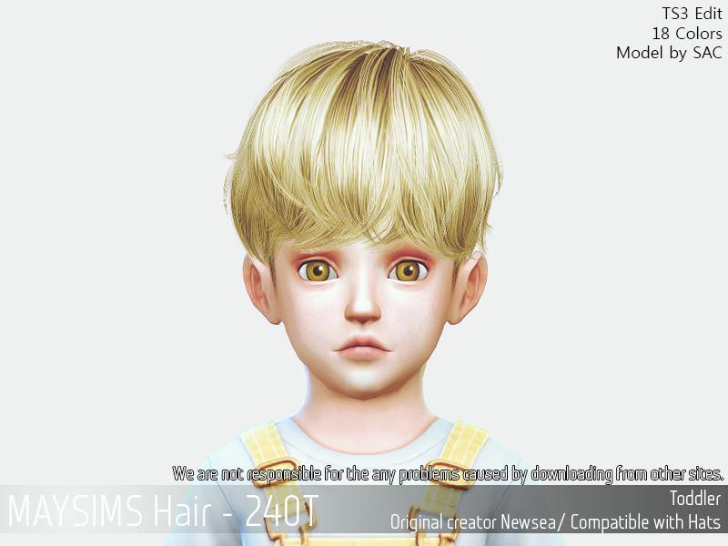 메이 아이템 - May_TS4_Hair240T
