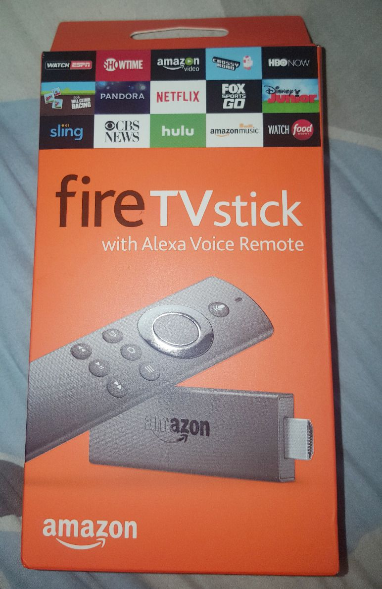 Fire TV Stick with Alexa Voice Remote is a streaming media