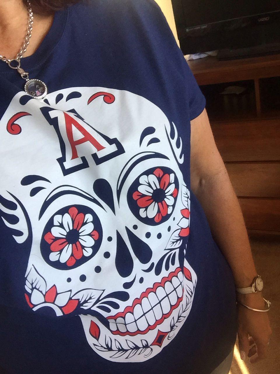 d753b9d3a Arizona Wildcat T-shirt. UofA Cats. Bear Down. Dia De Los Muertos ...