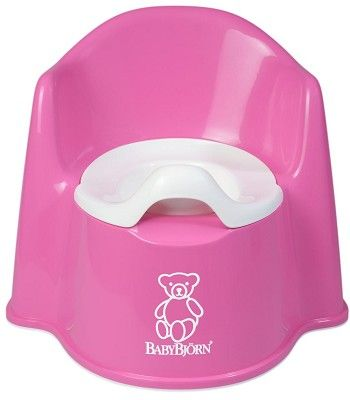 Babybjorn Potty Chair In Pink