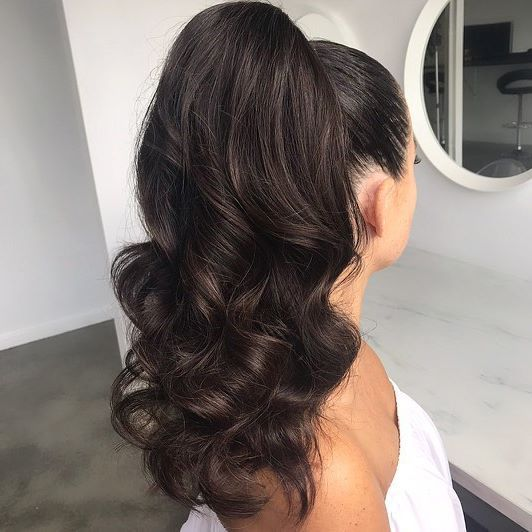 The dreamiest ponytail #ponytailhairstyles