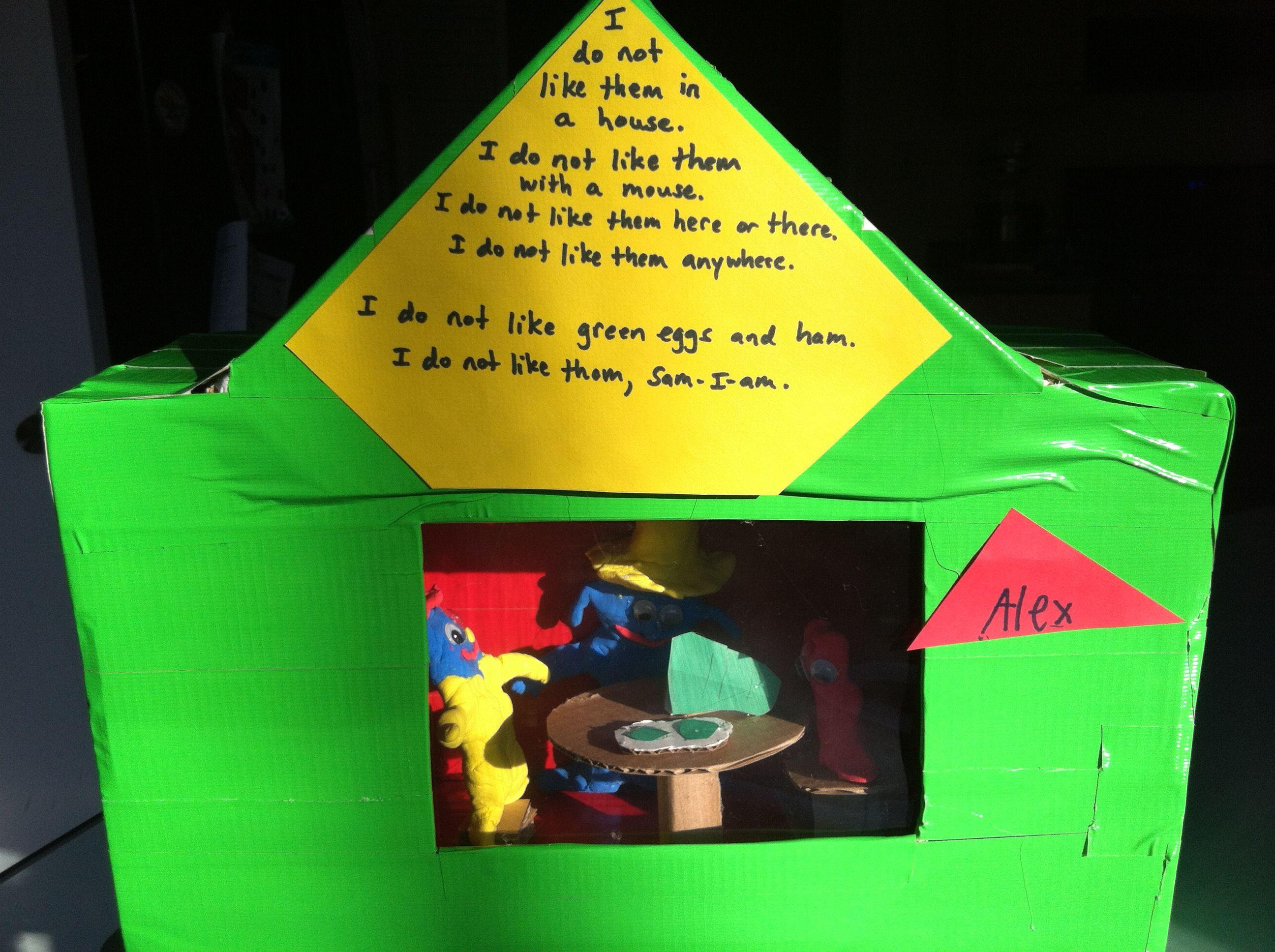 1st Grade Dr Seuss Project