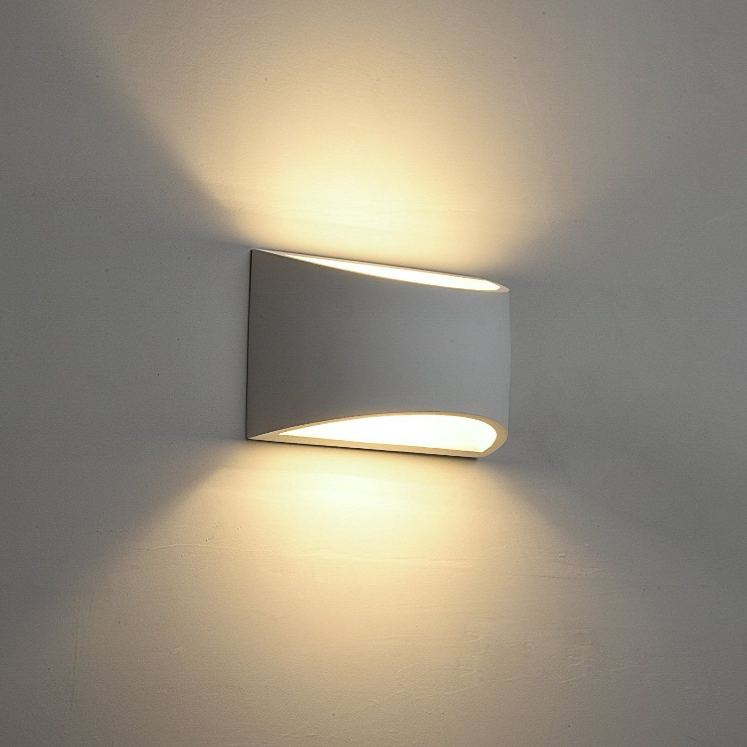 Deckey Wall Light Led Up And Down Indoor Lamp Uplighter Downlighter Warm White Amazon Co Uk Lighting Wall Lights Wall Sconce Lighting Led Wall Sconce