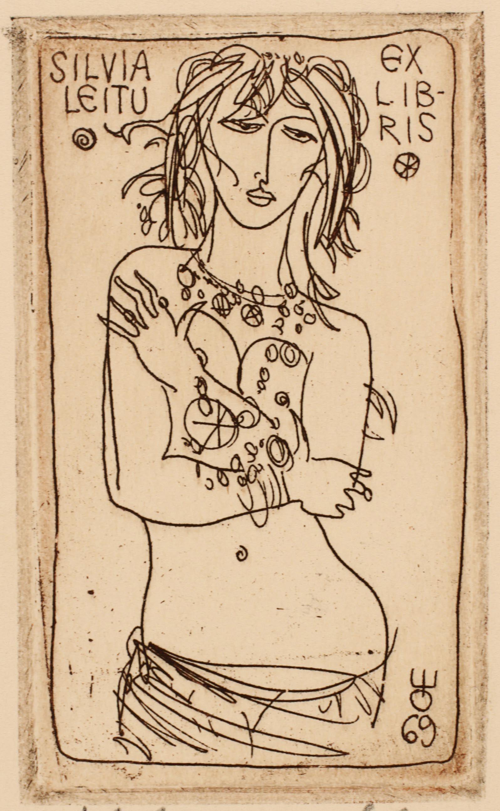 Evald Okas, Art-exlibris.net