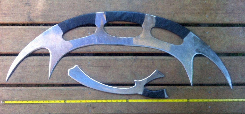 Klingon Mek'leth Kitchen Knife. Hand Forged by FoggyMountainForge ...