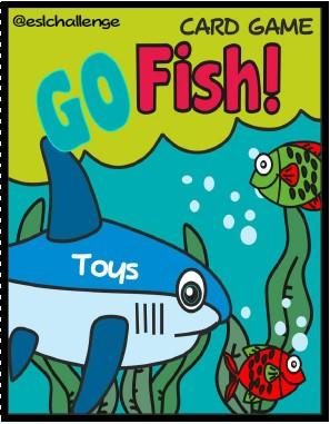 Go Fish Card Game Eslchallenge Atividades De Ingles Atividades