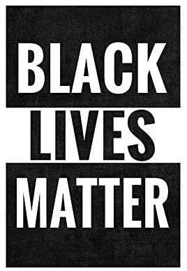 Amazon Com Flagology Com Black Lives Matter Garden Flag 12 5 X 18 Outdoor Flag Exclusive Fabric Single Sided Text Black Lives Matter Black Lives Life