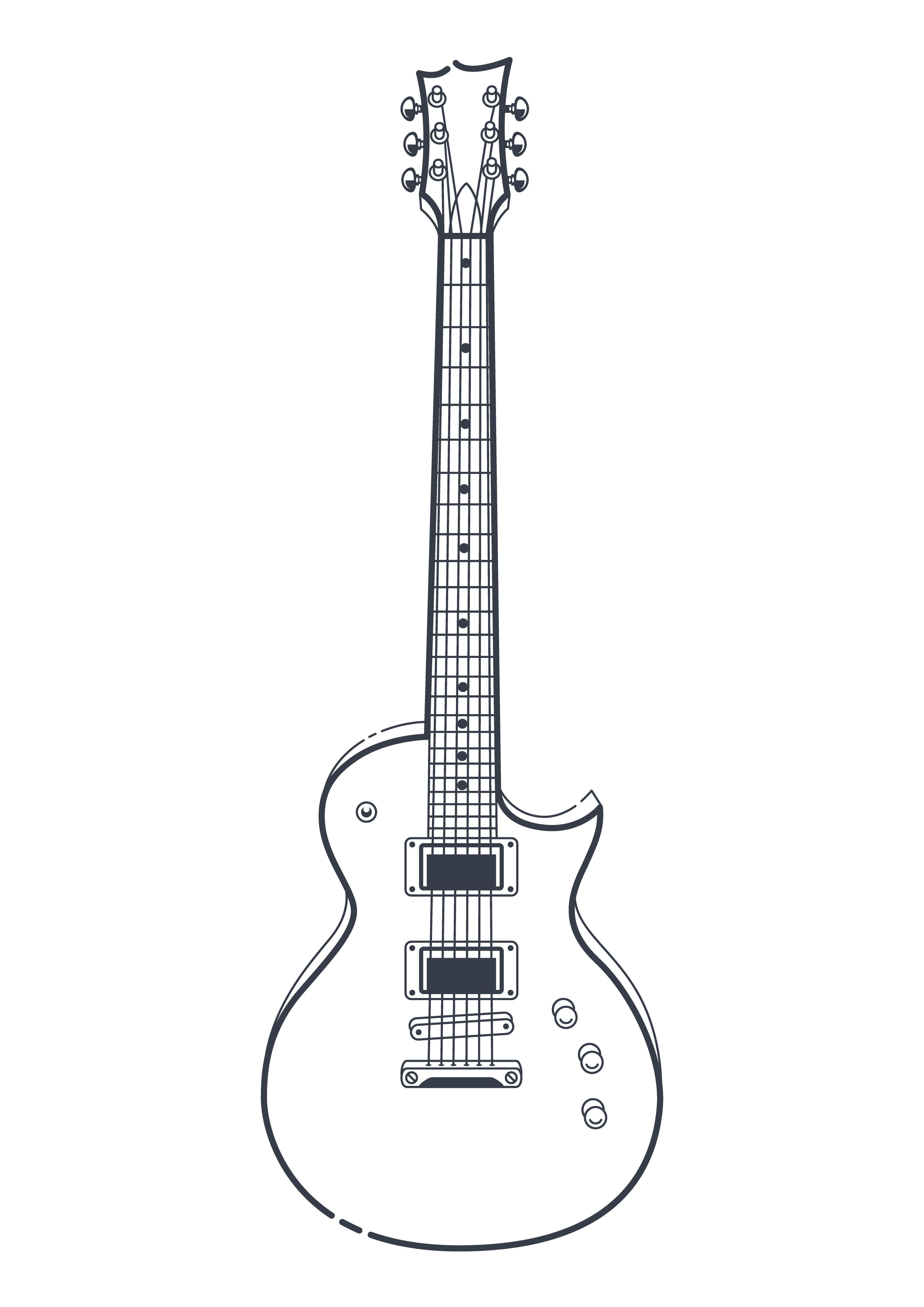 Download Electric Guitar Vector Vector Art Choose From Over A Million Free Vectors Clipart Graphics Vector Art Imag Guitar Vector Electric Guitar Art Guitar