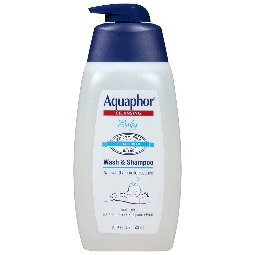 Aquaphor baby wash and shampoo tearfree and mild for