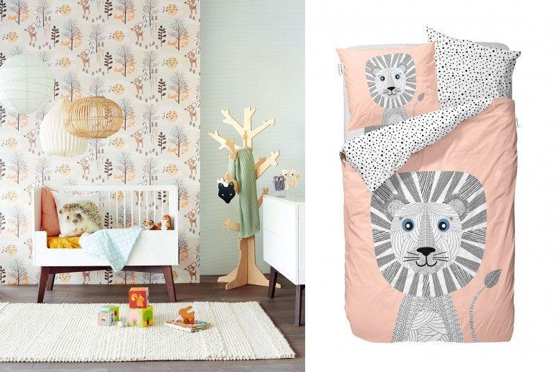 Trends kinderkamer 2015 - oranje, bruin, vintage