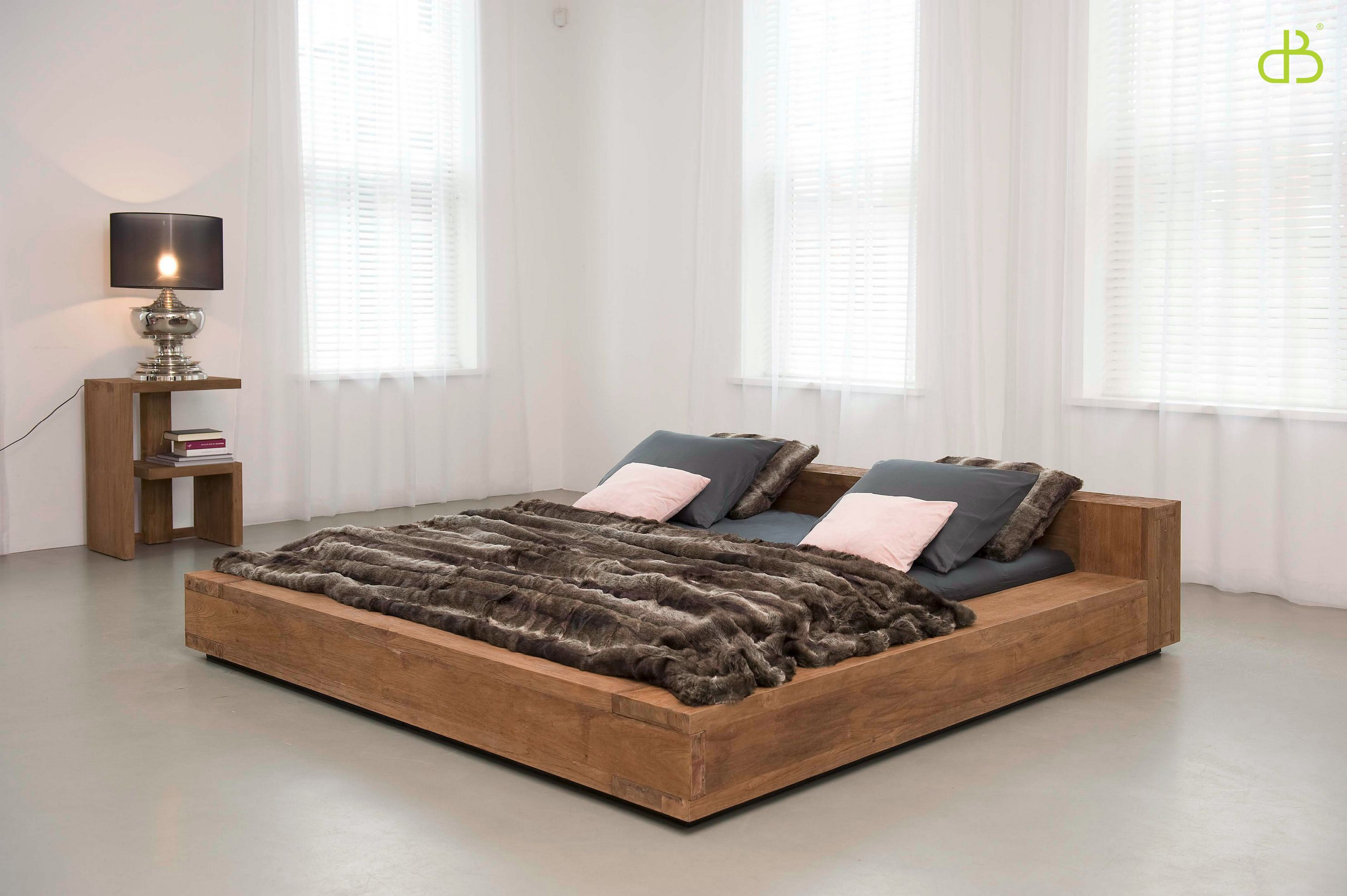 Queensized bed from the Lekk Home & Decor Singapore