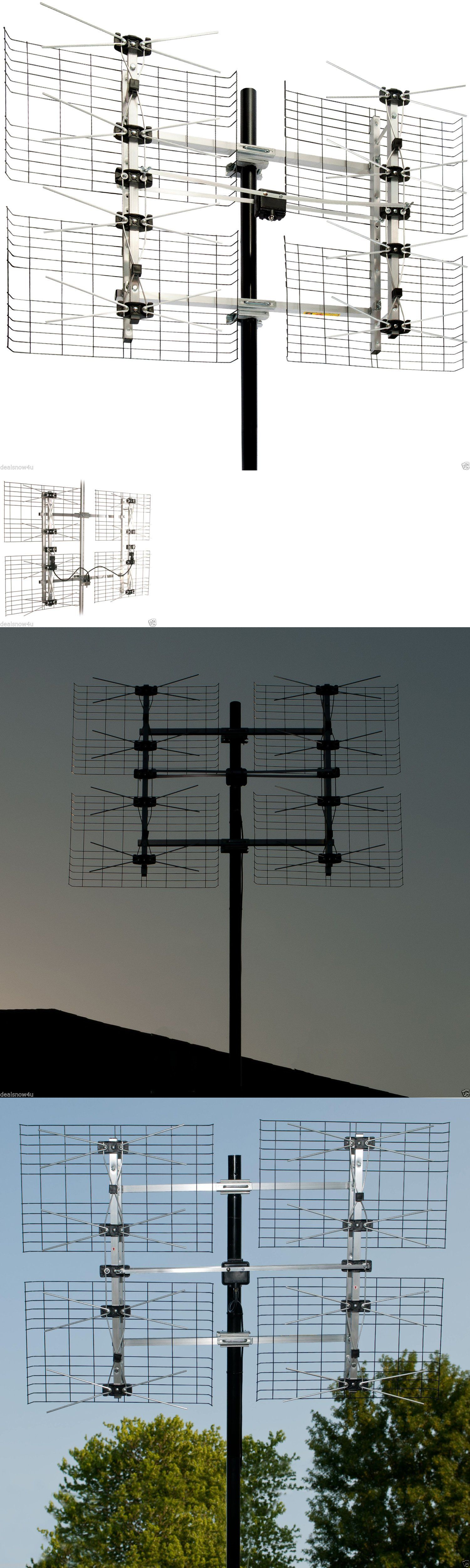 Antennas and Dishes Antenna Db8 Multi Directional Hdtv Tv Over Air Attic Outdoor Roof Mount & Antennas and Dishes: Antenna Db8 Multi Directional Hdtv Tv Over Air ...