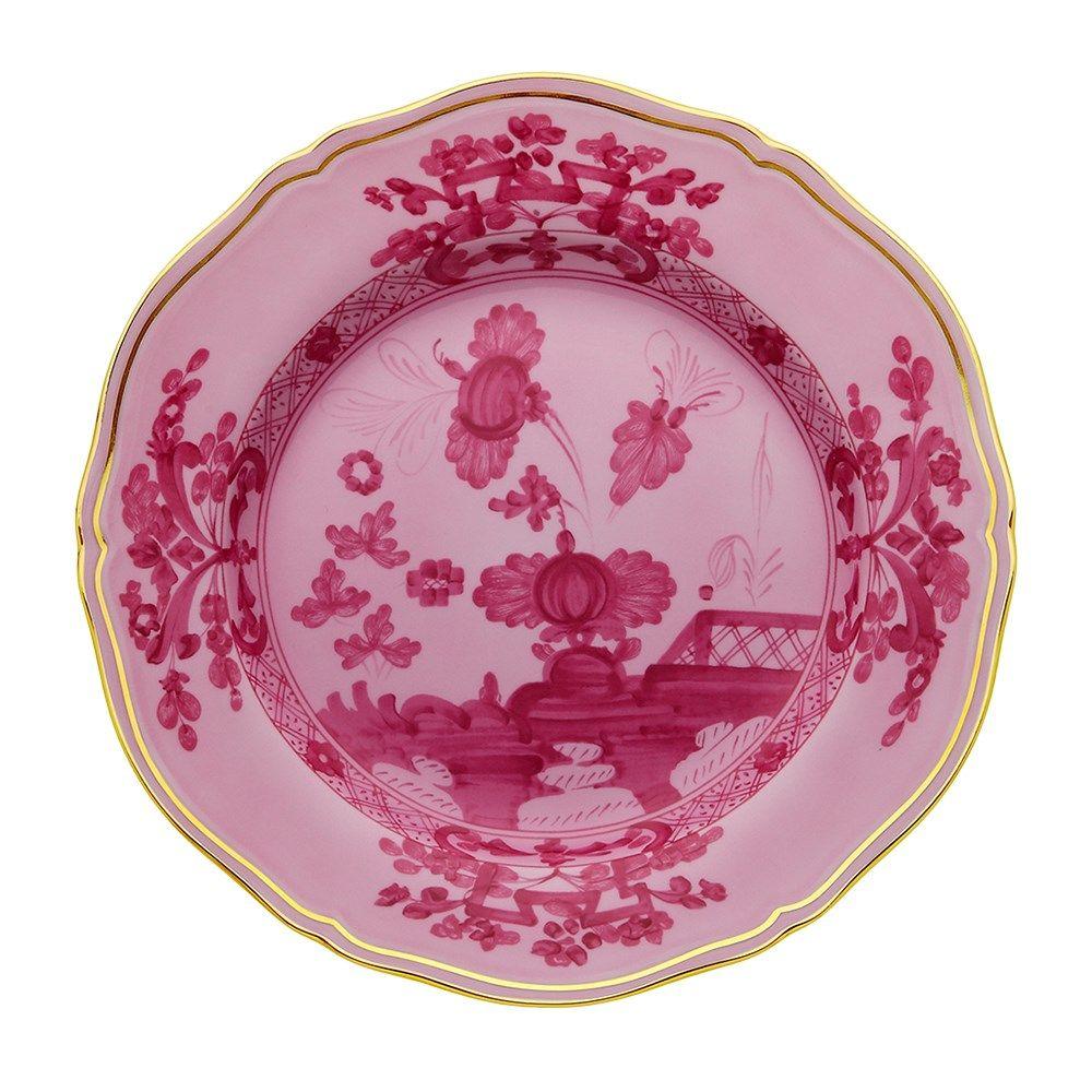 Ginori Antico Doccia Oriente Italiano Porpora Plates