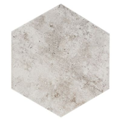 Floor And Decor Tile Quality Pthis Gray 10Inx 11In New York Soho Hexagon Porcelain Tile Has
